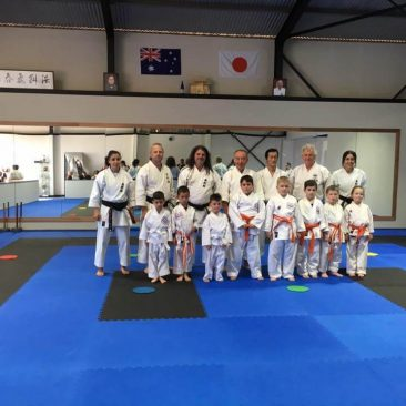 Little ninjas and beginner class 2016