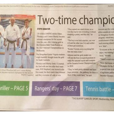 Buyip writeup about our members winning the national championships this year.