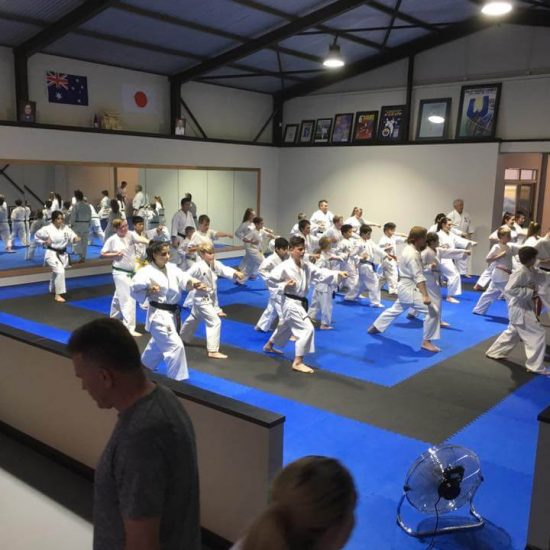 mixed class kata training